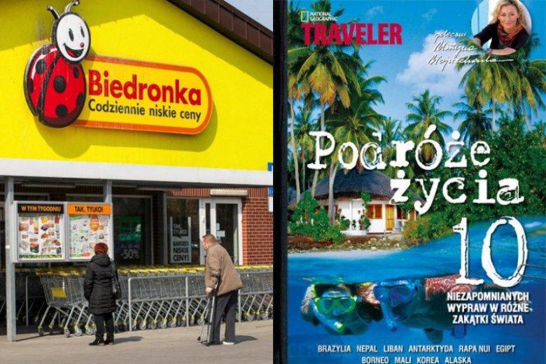 """Wśród książek dostępnych w promocji Biedronki znajdziemy m.in. świetną pozycję dla wszystkich fanów podróżowania - """"Podróże życia. 10 niezapomnianych wypraw w różne zakątki świata"""""""