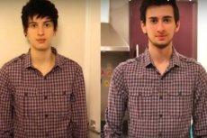 Jamie przed i po transformacji.