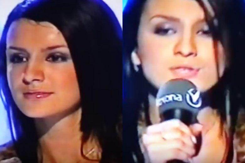 "16-letnia Sara Boruc-Mannei w ""Idolu"""