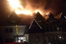 W Zakopanem zapalił się hotel Belvedere. Ewakuowano 400 gości.