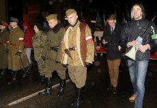 ONR mimo sprzeciwu mieszkańców wyszedł na ulice Hajnówki