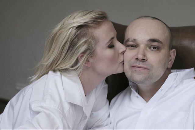 Anna Kalita z małżonkiem Tomaszem.