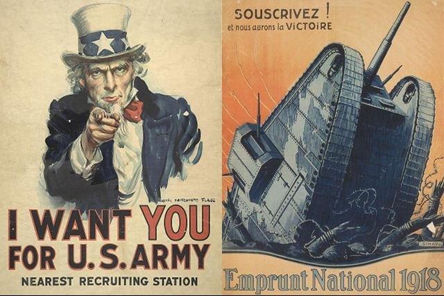 Wuj Sam Chce Właśnie Ciebie Zobacz Plakaty Z I Wojny