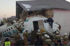 Co najmniej 14 osób zginęło w katastrofie samolotu, który rozbił się tuż po starcie z lotniska w Ałmaty w Kazachstanie.