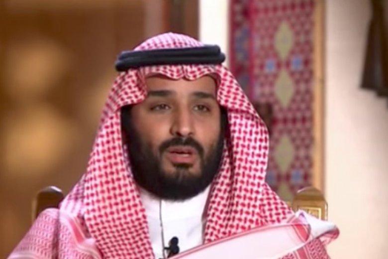 Mohammed bin Salman, książę i następca tronu Arabii Saudyjskiej.