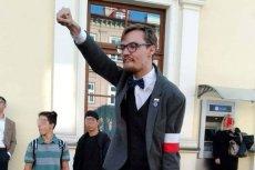 Znane są personalia bohatera narodowców. To Patryk Kołbyko, kandydat Kukiz'15 w wyborach samorządowych.