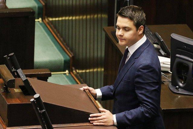 To już oficjalne. Łukasz Rzepecki został wykluczony z klubu parlamentarnego PiS.
