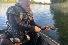 Jarosław Kaczyński na Pomorzu Zachodnim po konwencji PiS wybrał się na ryby.