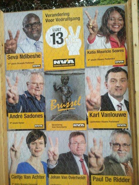 Kampania wyborcza w Belgii