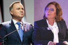 Andrzej Duda zdecydowanie wygrałby z Małgorzatą Kidawą-Błońską, gdyby spotkali się w drugiej turze wyborów prezydenckich.