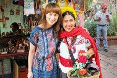 """Sylwia Mróz jest autorką książki """"Pejzaż bez kolców. Meksyk słońcem malowany"""""""