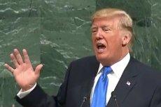 """Jeszcze nigdy tak mocno Trump nie ostrzegał Kima. """"Nie będzie innego wyjścia niż całkowite zniszczenie"""" – grzmiał prezydent USA mówiąc o Korei Północnej."""