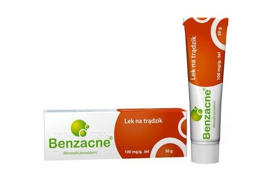 Lek na trądzik, Benzacne