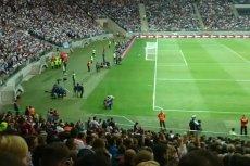 Kolejny filmik z fałszywym Ronaldo. Zobacz, jak wbiegł na boisko w czasie meczu Real-Fiorentina w Warszawie