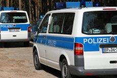Niemiecka policja (zdjęcie poglądowe)