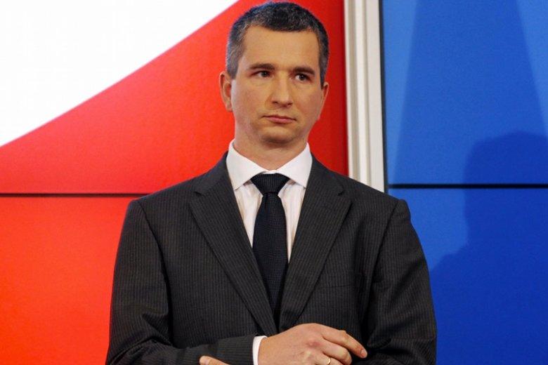 Nowy minister finansów Mateusz Szczurek.