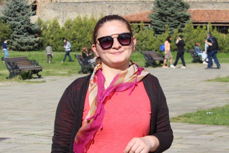 26-letnia Keti z Tbilisi mówi o Lechu Kaczyńskim w samych superlatywach.