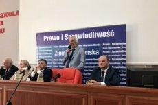 Ryszard Terlecki spotkania z wyborcami w Radomiu raczej nie zaliczy do udanych.