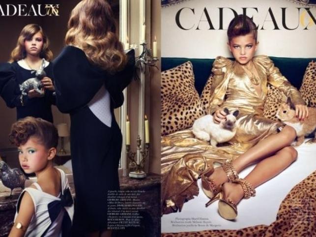 Kontrowersyjne zdjęcia w paryskim Vogue