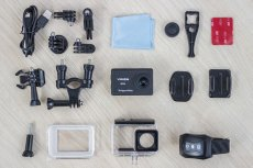 Kamera Kruger&Matz Vision P500 jest świetnie wyposażona. Nic nie trzeba dokupować.