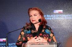 Georgette Mosbacher stanęła w obronie TVN24.