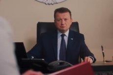"""""""Będą"""" – zapewnia Mariusz Błaszczak na filmie, w którym chwali sie bezprzetargowym zakupem samolotów F-35."""