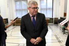 Ryszard Czarnecki już stał się męczennikiem prawicy.