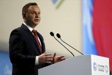 Andrzej Duda powiedział na szczycie COP24 słowa o użytkowaniu węgla, które wywołały poruszenie.