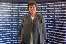 Gabriela Masłowska – posłanka klubu PiS, która zapowiedziała walkę z halloweenowymi zabawami w szkołach.
