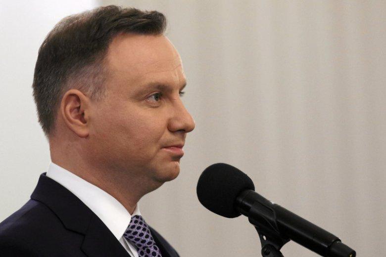 Prezydent Andrzej Duda komentuje uruchomienie artykułu 7. przeciwko Polsce.