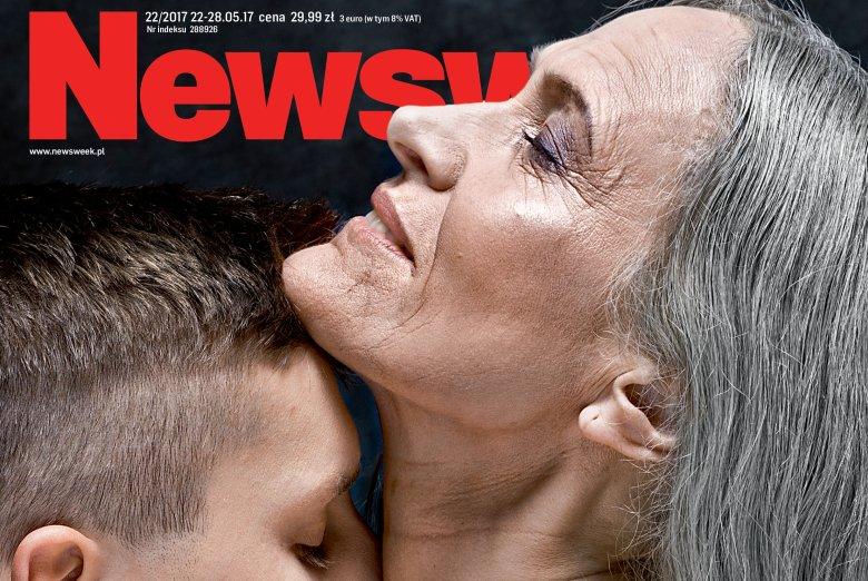 """Czy związek starszej kobiety z młodszym mężczyzna was oburza? """"Newsweek"""" przypomina dlaczego Lech Kaczyński mówił o swojej żonie """"Babusik""""."""