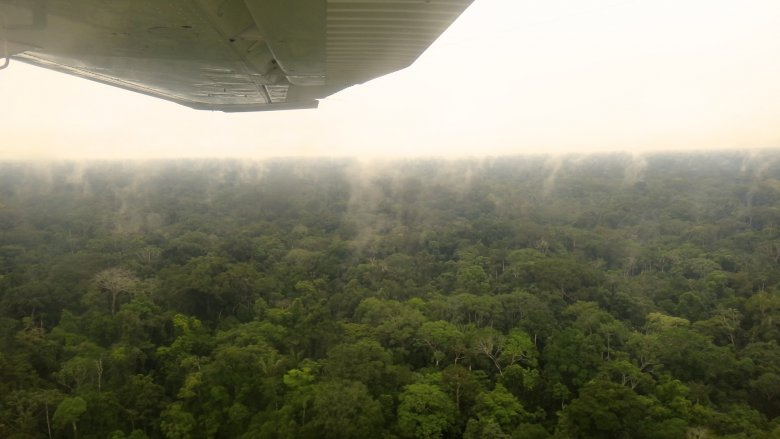 Lot nad Amazonią