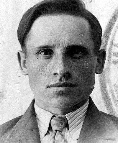 Grigorij Timoszenko, strażnik w komendanturze NKWD w Charkowie.