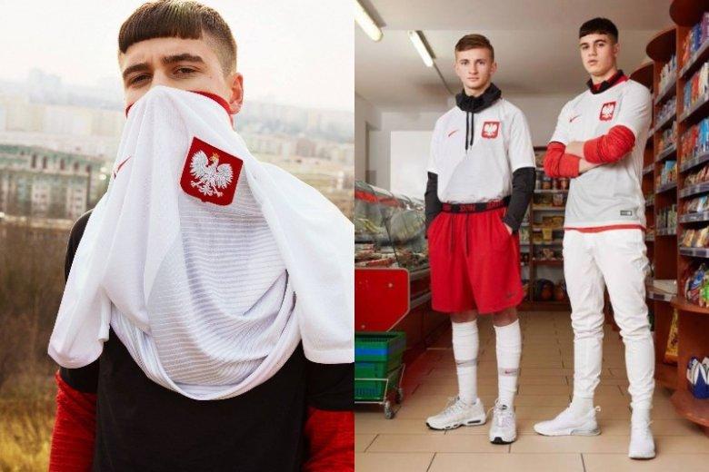 Konwencja sesji zdjęciowej Nike, prezentującej stroje Polskiej Reprezentacji Piłki Nożnej podzieliła internautów prawie tak mocno jak pierwsza okładka Vogue Polska