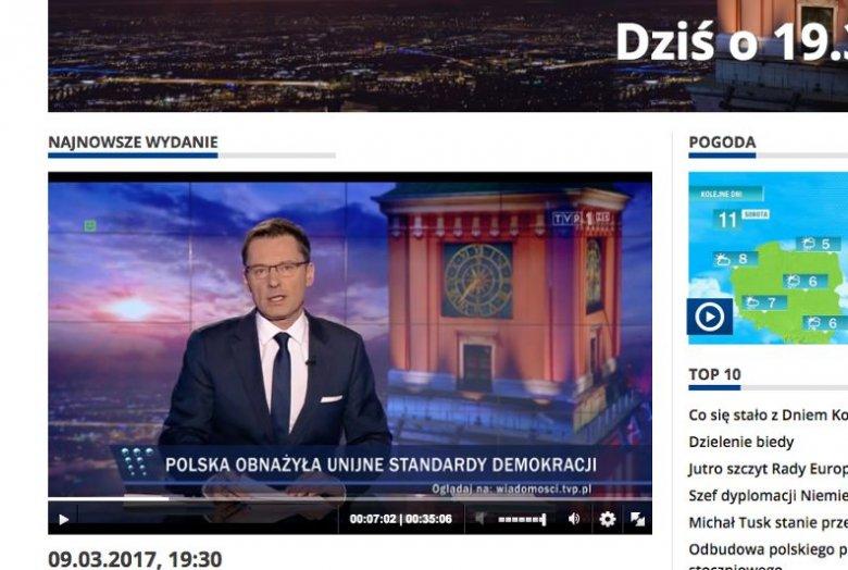 """""""Wiadomości prawie w całości poświęcone Donaldowi Tuskowi"""