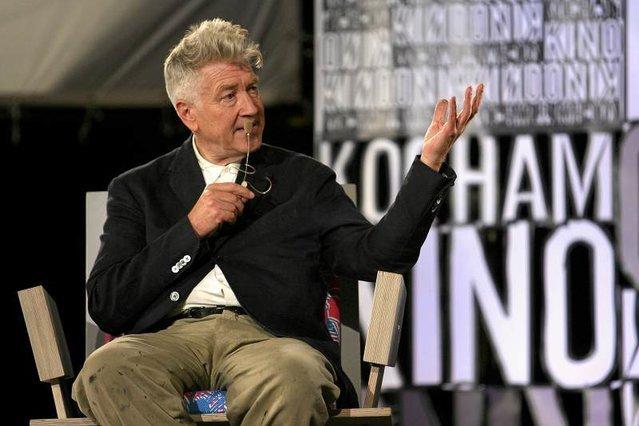 David Lynch był kiedyć stałym bywalcem Łodzi.