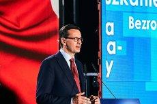 Premier Mateusz Morawiecki wymyślił Patrykowi Jakiemu komiczne hasło.