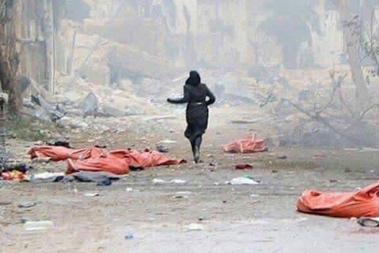 """W syryjskim Aleppo """"wyzwalaniu"""" miasta przez siły reżimowe towarzyszą masowe egzekucje ludności cywilnej."""