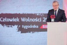 """Tym razem """"Człowiekiem Wolności"""" został wicepremier Piotr Gliński."""