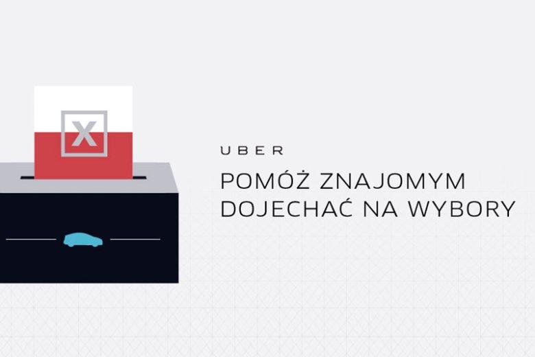 Firma Uber organizuje wielką wyboczą mobilizację. Uczestnikom akcji #JadęNaWybory zapewni darmowy dojazd na głosowanie 25 października!