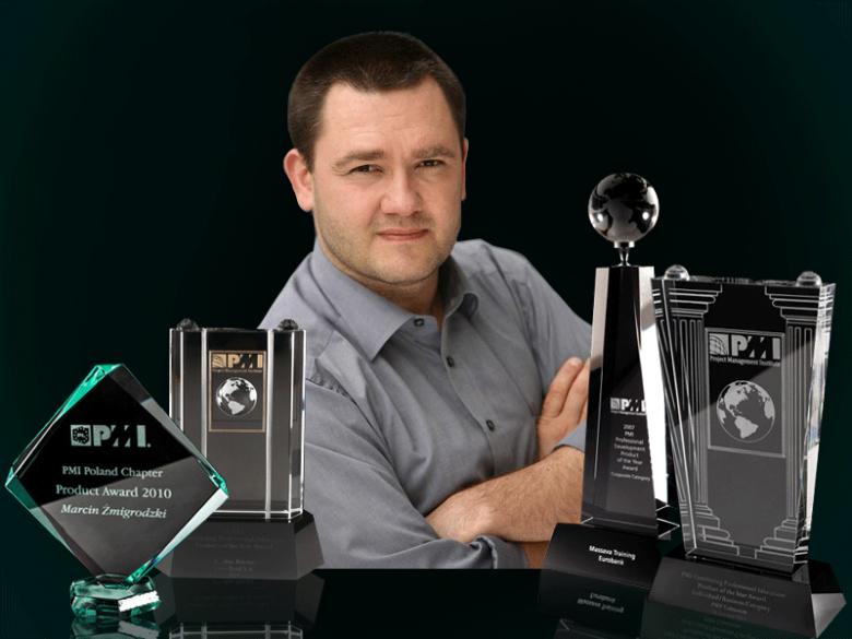 dr Marcin Żmigrodzki - czarny pas 6 sigma, globalny lider nagród  PMI