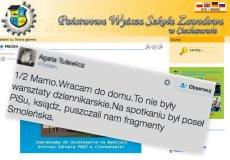 Zamiast warsztatów dziennikarskich dzieci wzięły udział w propagandówce PiS i projekcji filmu Smoleńsk. Wszystko nagrywała kamera telewizji Trwam.