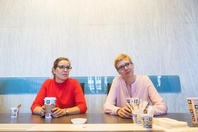 Anna Leśniak i Anna Ścieszka