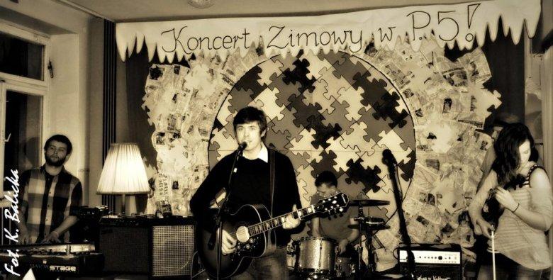 Koncert zimowy w Przedszkolu