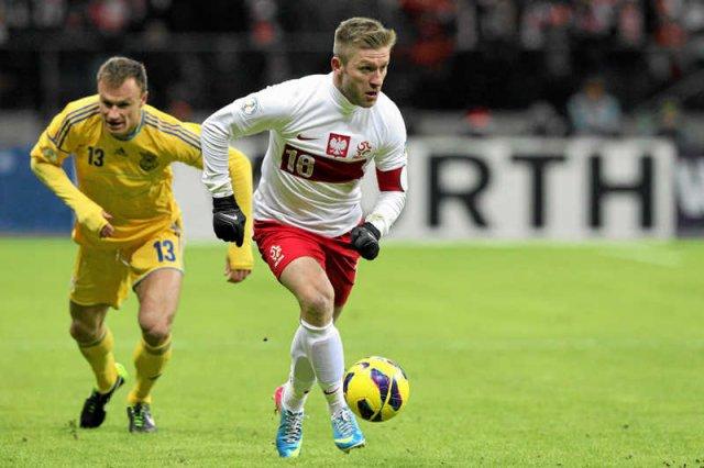 Polska przegrała z Ukrainą 0:1. Na zdjęciu mecz na Stadionie Narodowy z marca 2013 r.