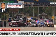 Cztery osoby zginęły, a siedem zostało rannych w strzelaninie, do jakiej doszło w piątek w bazie lotnictwa marynarki wojennej USA w Pensacola na Fłorydzie.