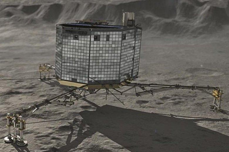 Lądownik Philae.