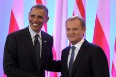 Obama miał przemówić razem z Tuskiem podczas obchodów 4 czerwca.