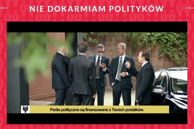 Łukasz Gibała i stowarzyszenie Kierunek Zmiana rozpoczynają kampanię przeciwko finansowaniu partii z budżetu. Pierwszy klip to przekaz grający wyłącznie na emocjach.
