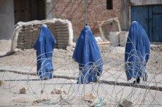 Afganistan, kobiety w burkach